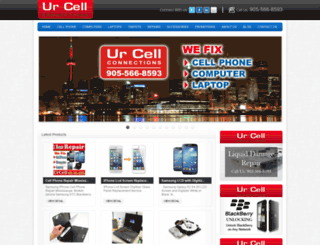 urcell.ca screenshot