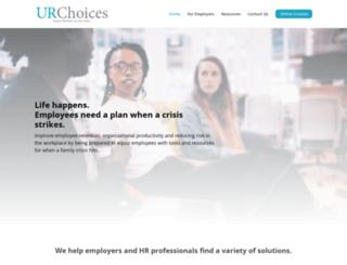 urchoices.net screenshot