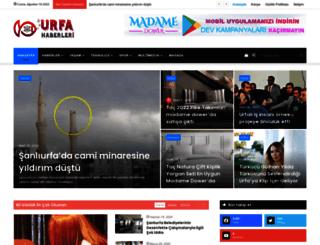 urfahaberleri.com screenshot