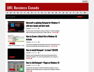 url-canada.ca screenshot