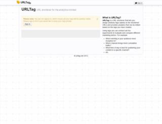 urltag.net screenshot