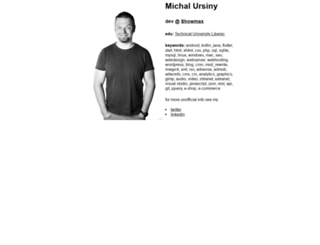 ursimon.musichall.cz screenshot