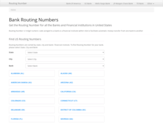 us-routingnumber.com screenshot