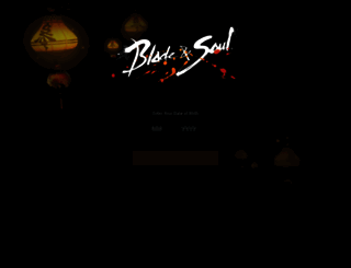 us.bladeandsoul.com screenshot