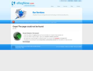 us.eregnow.com screenshot