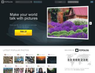 us.fotolog.com screenshot