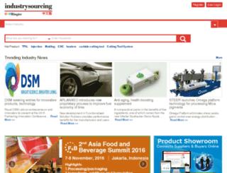 us.industrysourcing.com screenshot