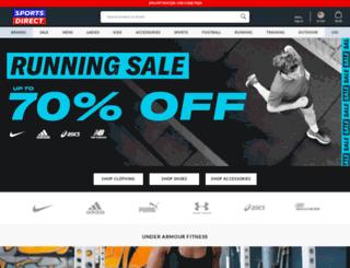 us.sportsdirect.com screenshot
