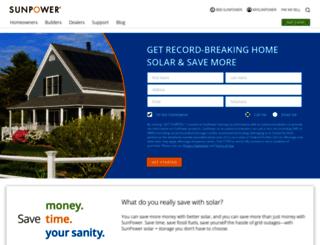 us.sunpowercorp.com screenshot
