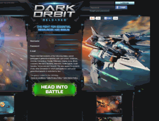 us1.darkorbit.com screenshot