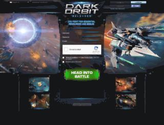 us2.darkorbit.com screenshot