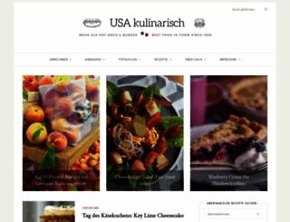 usa-kulinarisch.de screenshot