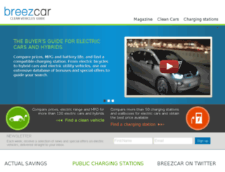 usa.breezcar.com screenshot