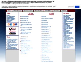 usa.immigrationvisaforms.com screenshot