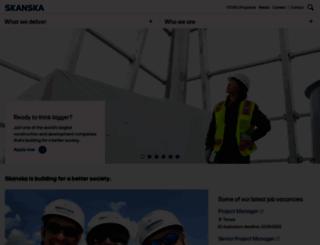 usa.skanska.com screenshot