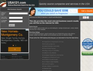 usa121.com screenshot