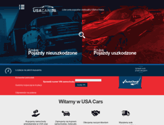 usacars.net.pl screenshot