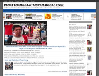 usahabajumurah.com screenshot