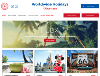 usairtours.co.uk screenshot