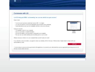 usairways.prcnet.com screenshot