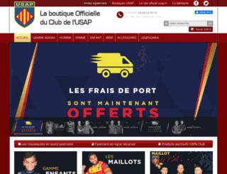 usapboutique.fr screenshot