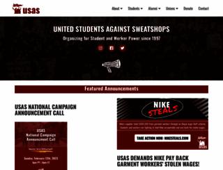 usas.org screenshot