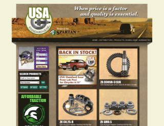 usastandardgear.com screenshot