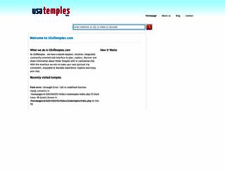 usatemples.com screenshot