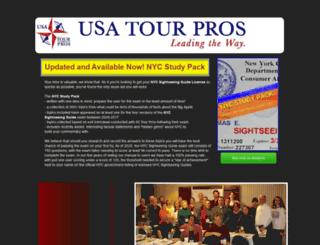 usatourpros.com screenshot