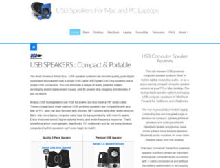 usb-computer-speakers.com screenshot