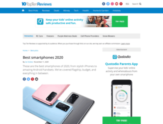usb-hub-review.toptenreviews.com screenshot