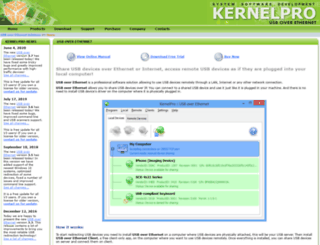 usb-over-ethernet.com screenshot