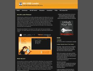 usbloader.com screenshot