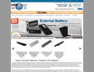 usbphoneworld.com screenshot