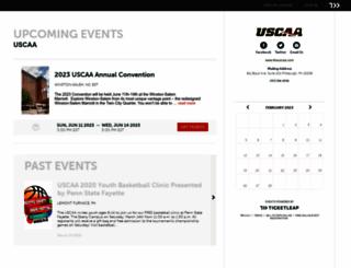 uscaa.ticketleap.com screenshot