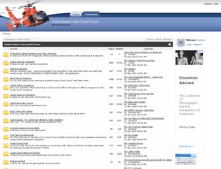 uscg.org screenshot