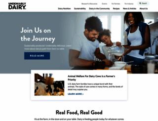 usdairy.com screenshot