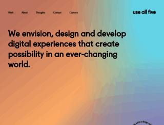 useallfive.com screenshot