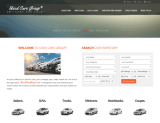 usedcarsgroup.com screenshot