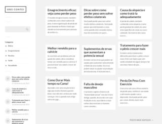 useicontei.com.br screenshot
