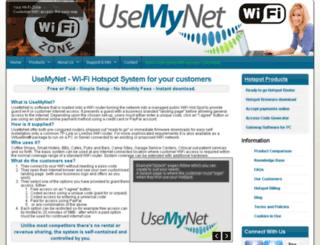 usemynet.com screenshot