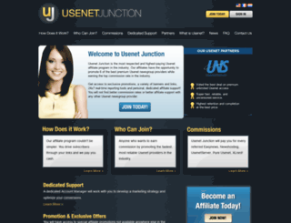 usenetjunction.com screenshot