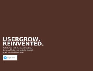 usergrow.com screenshot