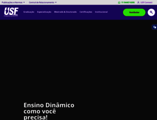 usf.edu.br screenshot