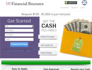 usfinancialresource.dailyfinancegroup.com screenshot