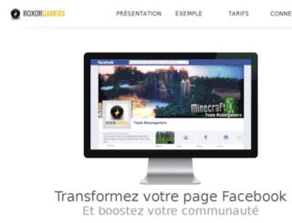 usfofficiel.roxorgamers.com screenshot