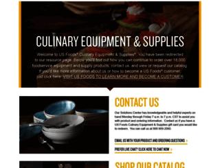usfoodsculinaryequipmentandsupplies.com screenshot