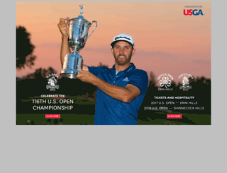 usga.usopen.com screenshot