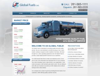 usglobalfuels.com screenshot