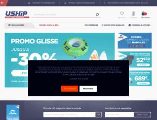 uship.fr screenshot